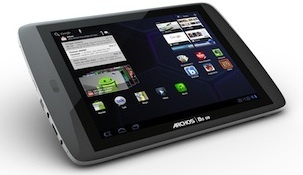 Archos G9 combines a 250GB hard disk drive with a 4GB flash drive.