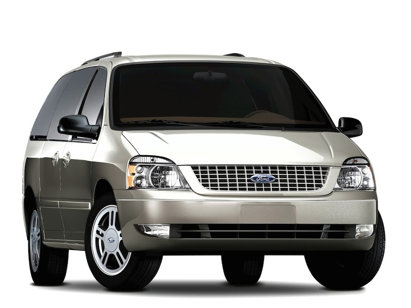 The 2005 Ford Freestar.