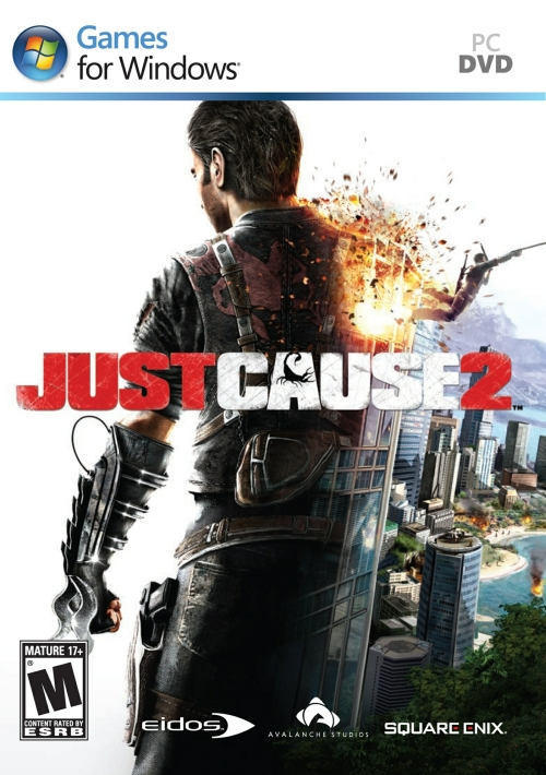 Don't let the box shot fool you; this deal is for the download edition of Just Cause 2.