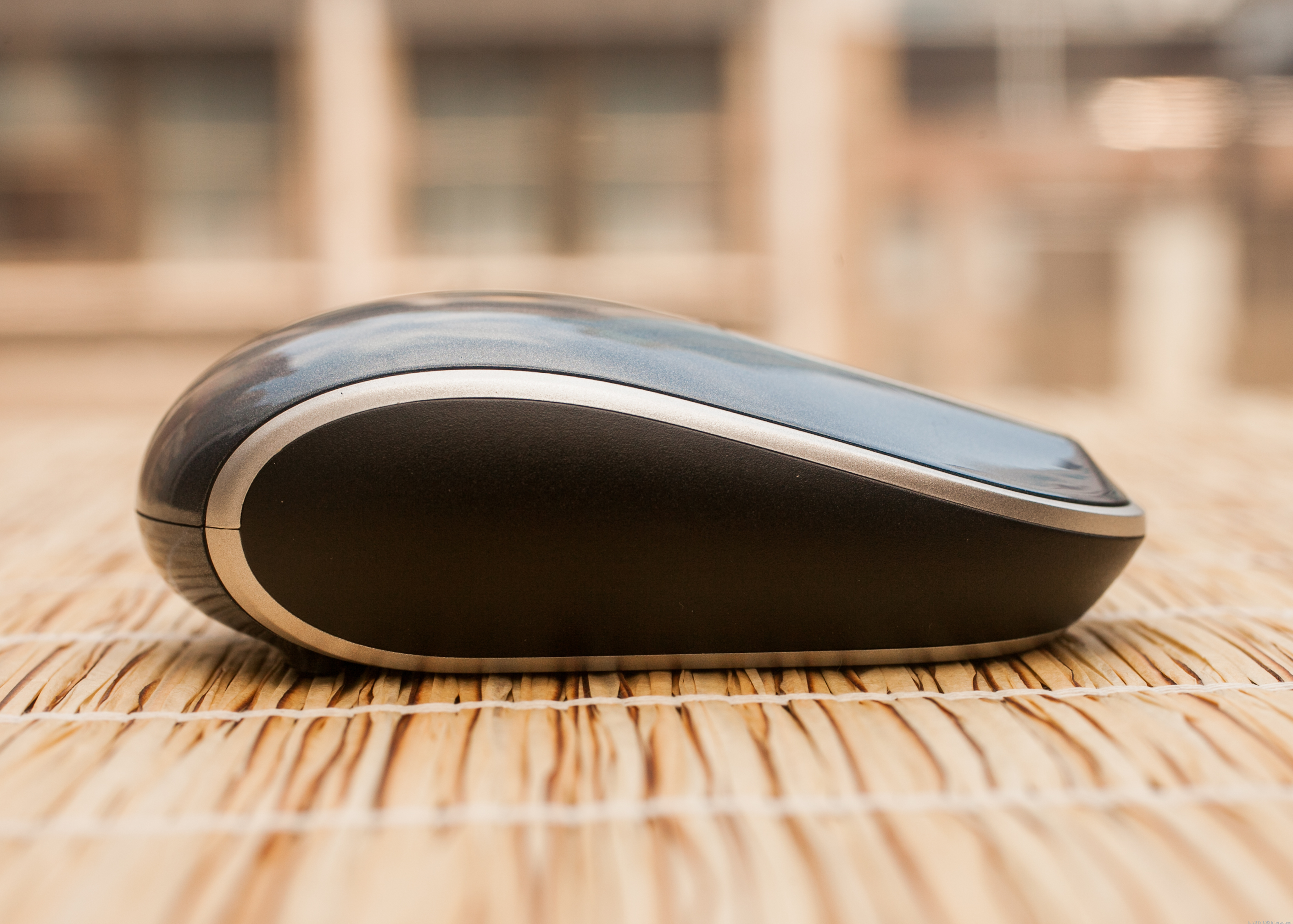 Side view of the Sculpt Touch Mouse