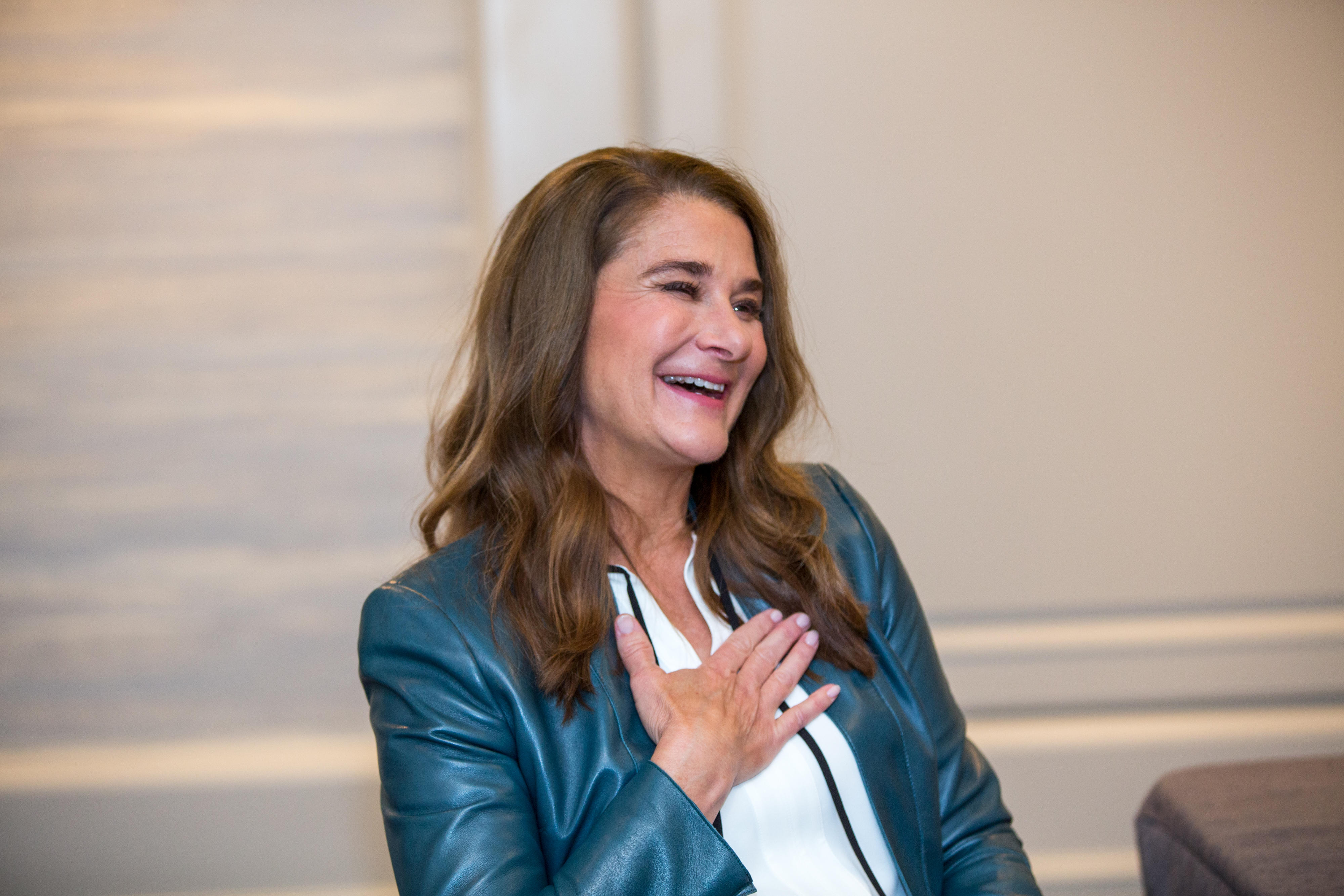 Melinda Gates Says Us Is A Long Way From Equality For Women Cnet