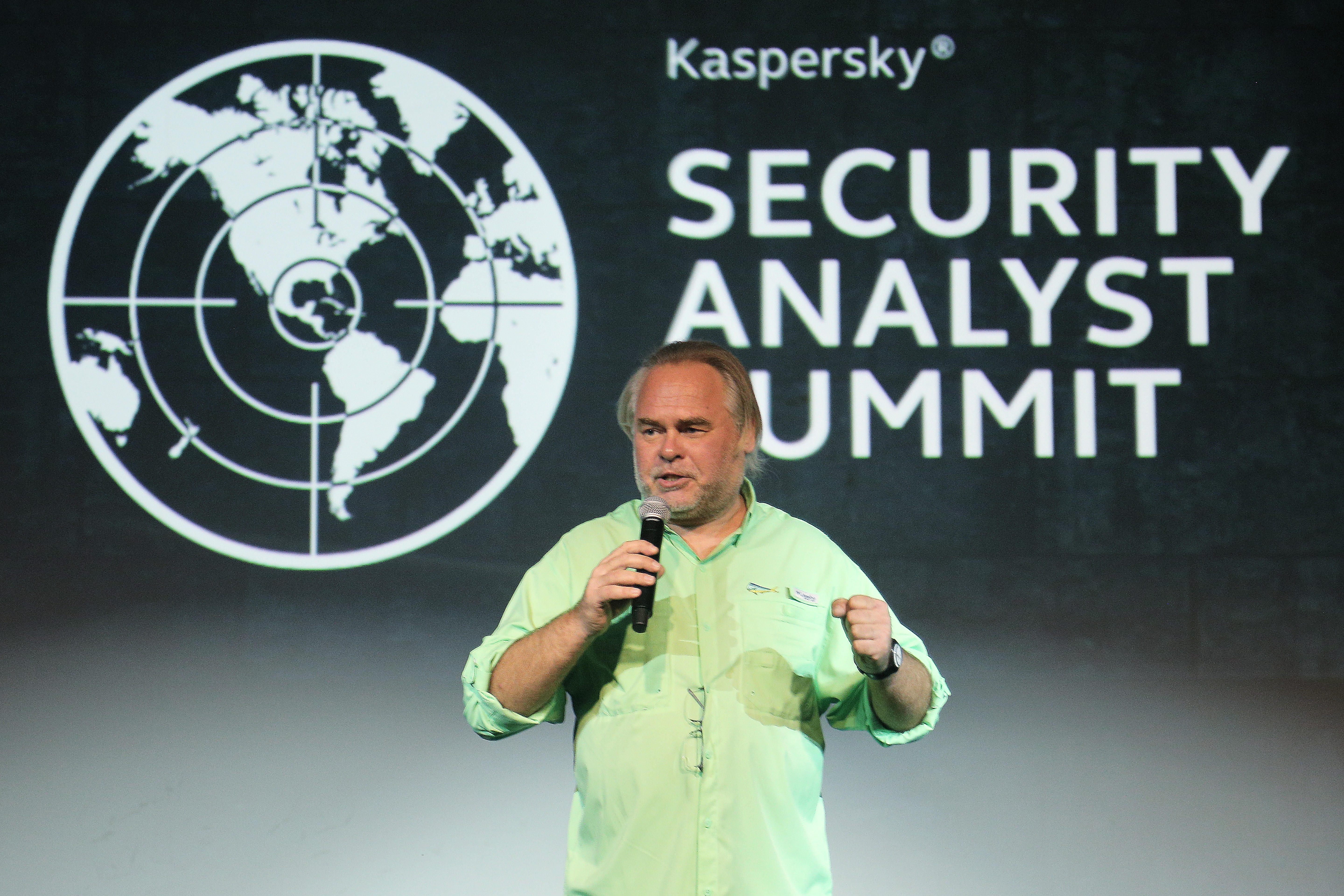 Kaspersky Security Analyst Summit 2018 - Conference Day One