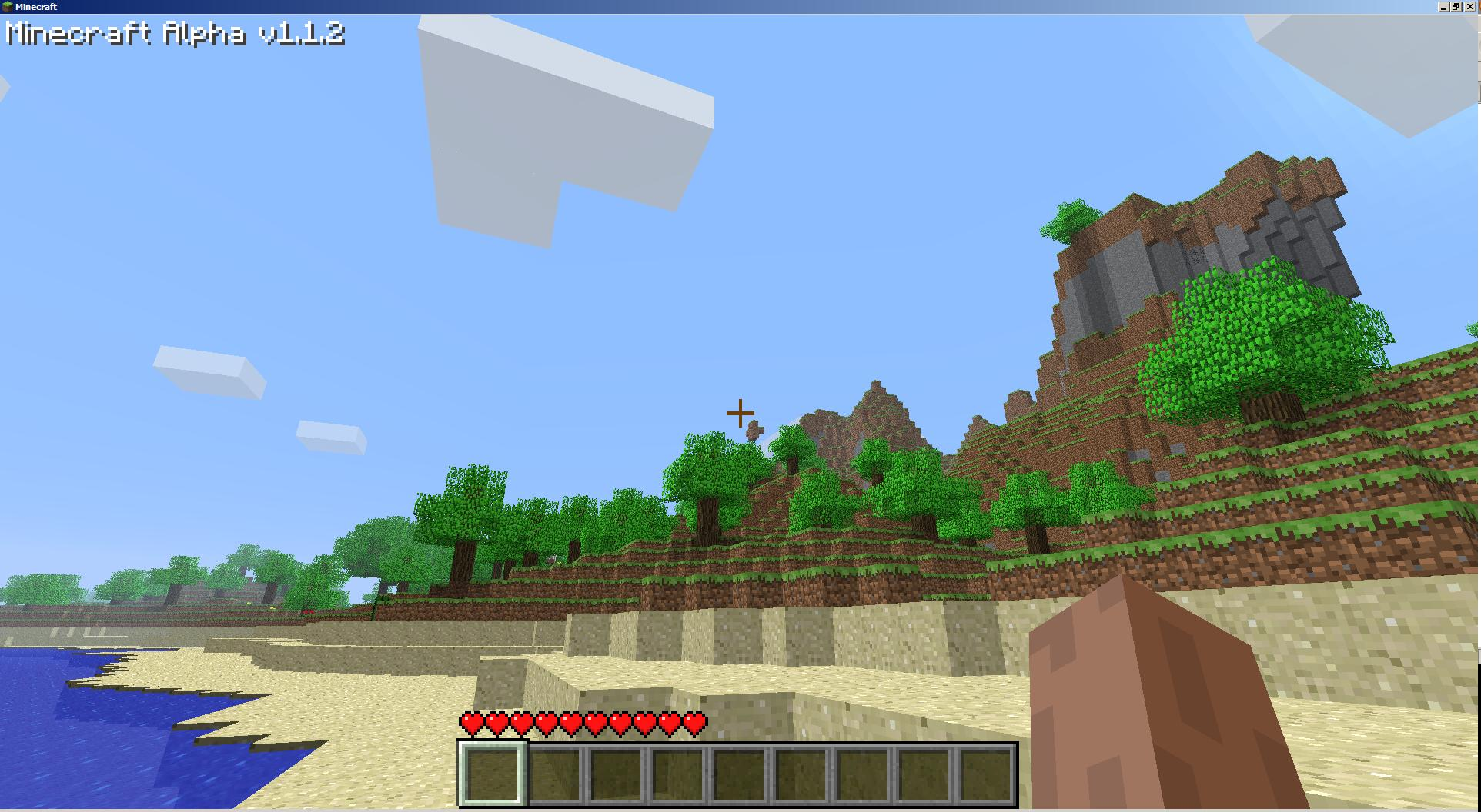 Minecraft starts you off in its blocky world with little indication of what you're supposed to do. That's part of its charm.