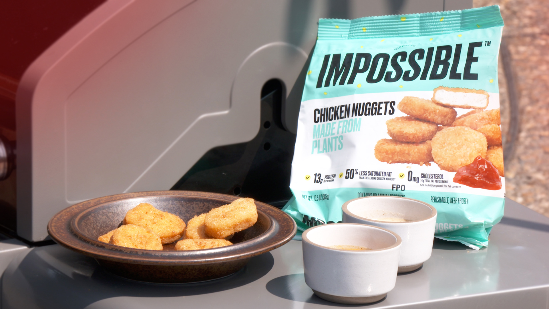 Video: Cooley hacks the cooking of Impossible chicken nuggets and they make him a believer
