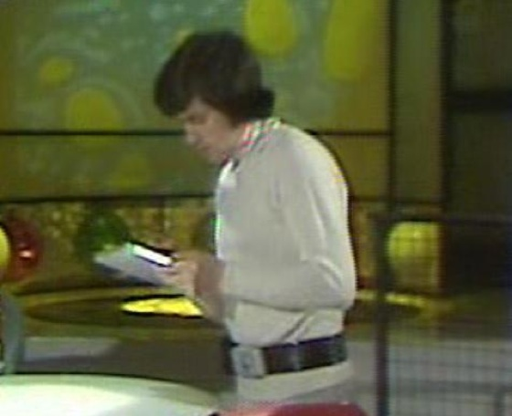 """A tablet being used in the 1970s British TV series """"The Tomorrow People."""""""
