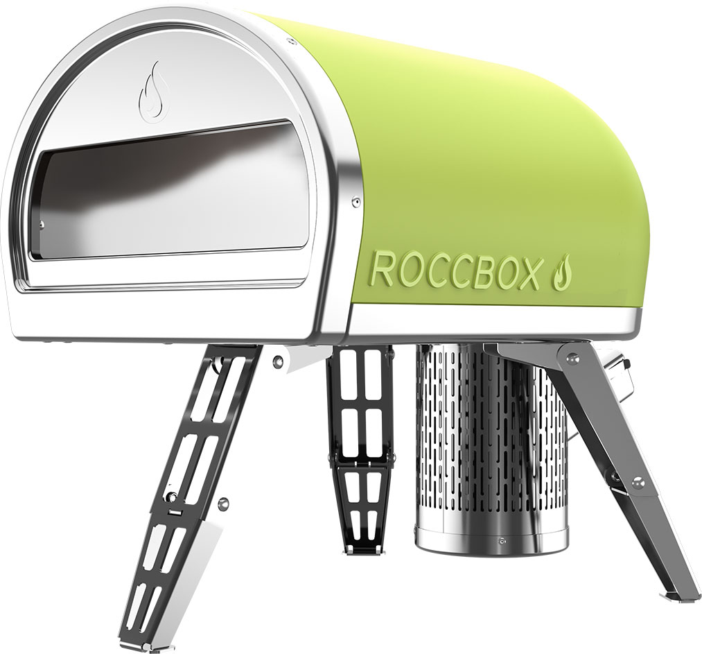 Landing soon: the Roccbox portable pizza oven.