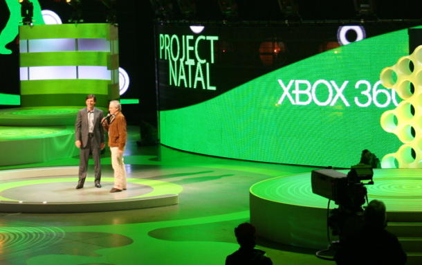 Microsoft unveils Project Natal at its E3 2009 press conference.