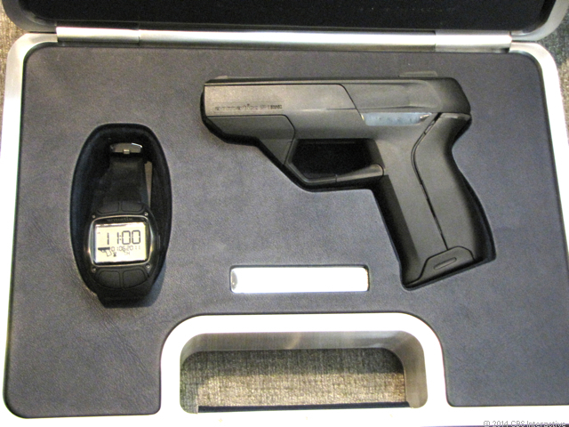 The Intelligent Pistol, from Armatix, can fire only when it's within ten inches of a synchronized watch.