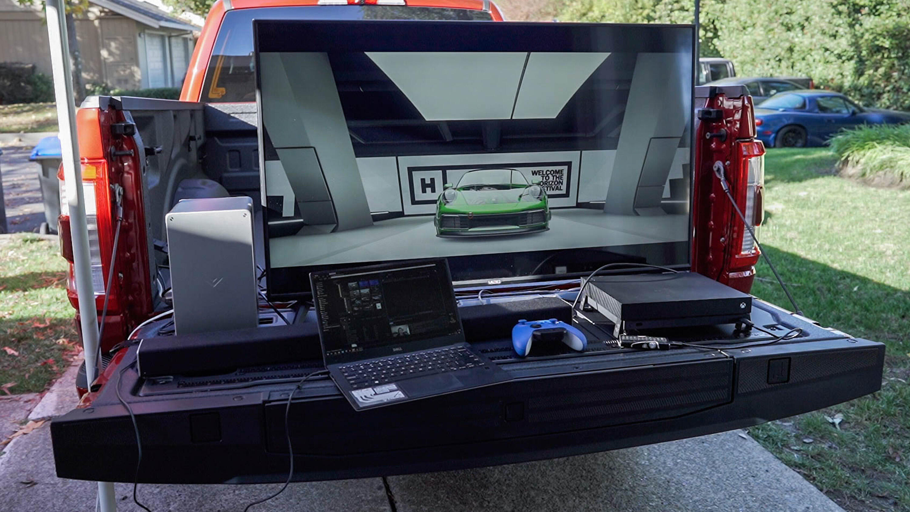 Video: Power an entire tailgate party with Ford F-150's Pro Power Onboard