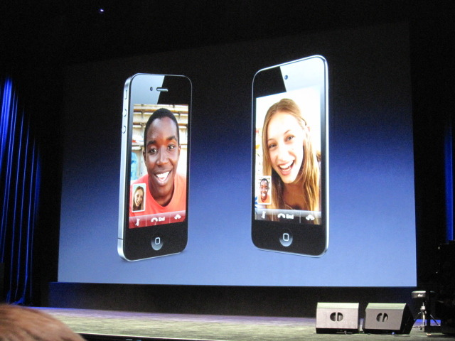 FaceTime between iPhone and iPod Touch