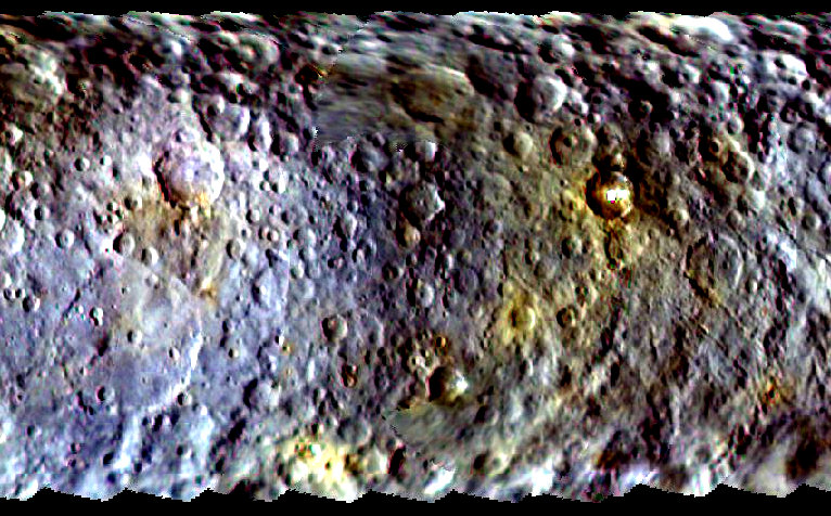 Ceres color map
