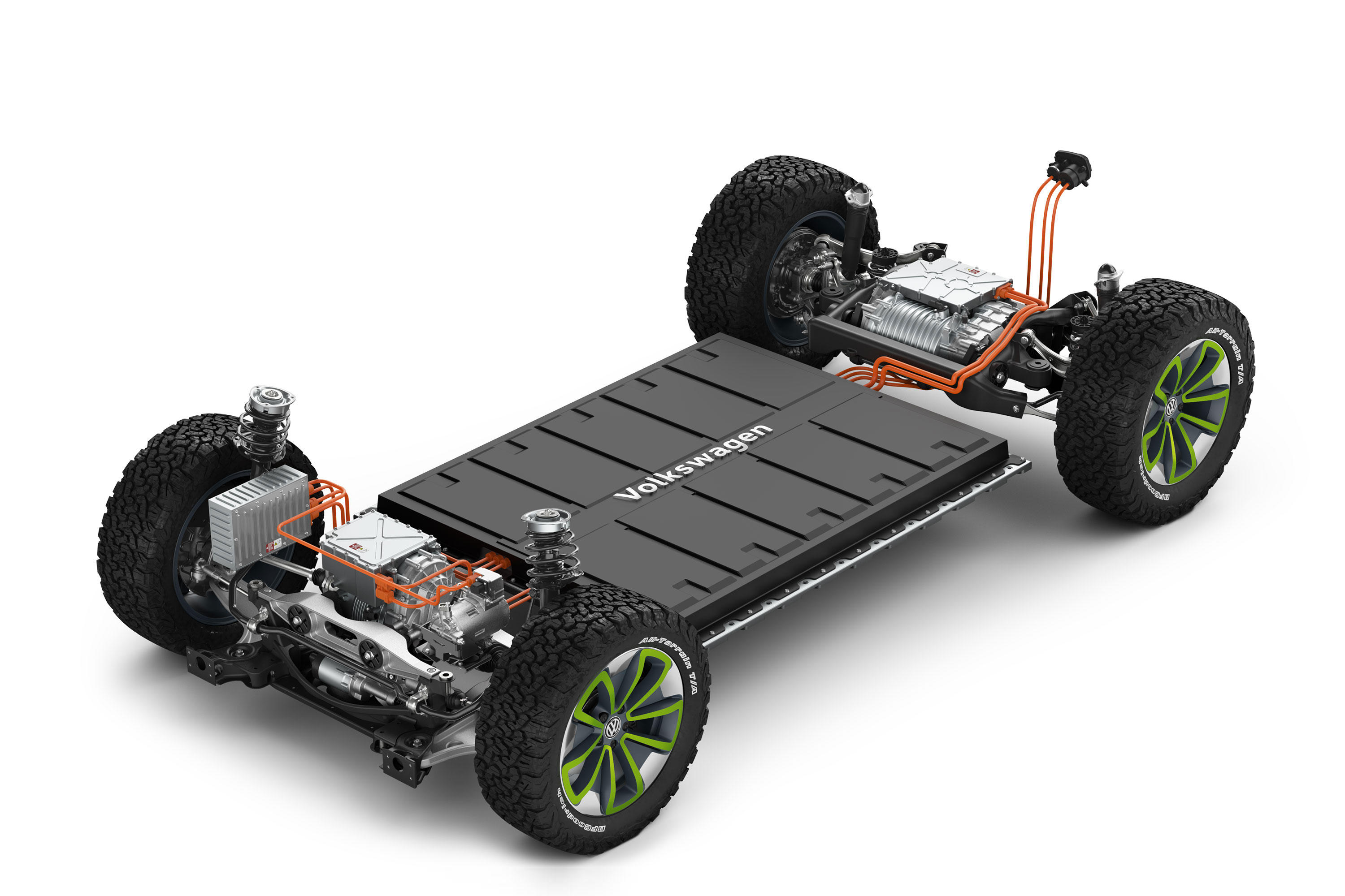 Volkswagen I.D. Buggy MEB chassis