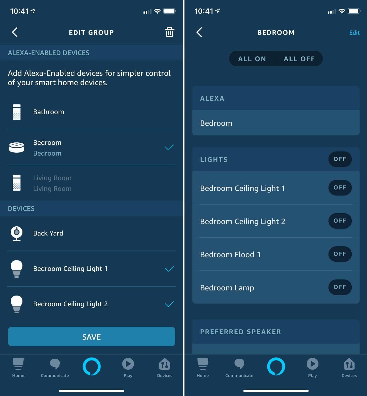 Cool thing 8: Smart home groups