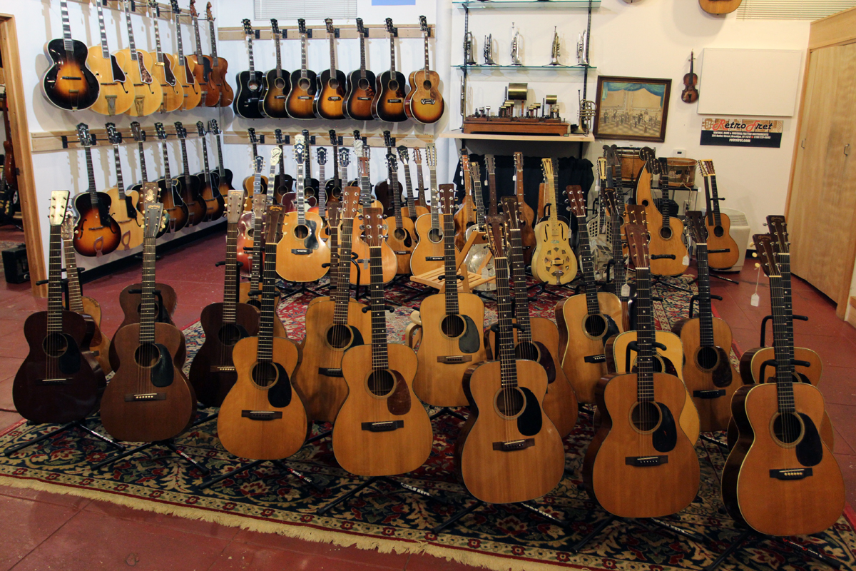 And still more guitars