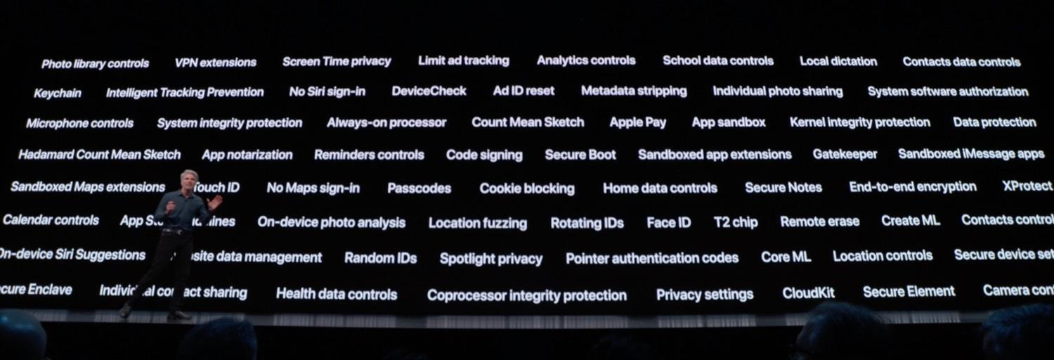 iOS 13 privacy features