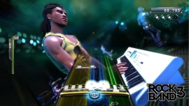 Rock Band 3 is being re-released, thanks to Mad Catz.