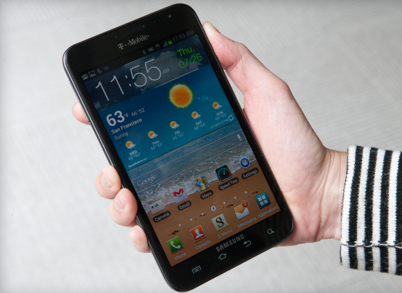 How will Samsung top its current 5.3-inch Galaxy Note?
