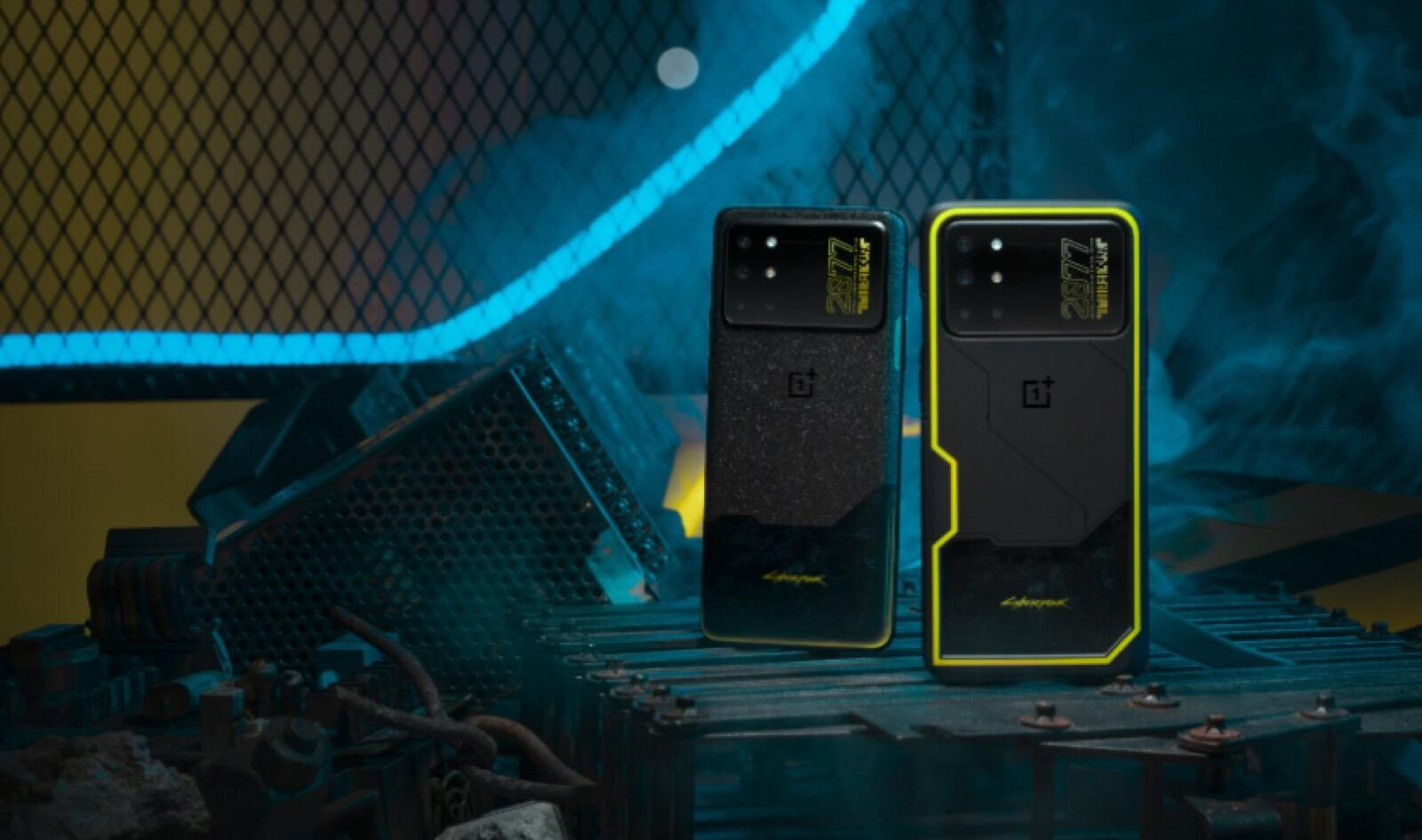 OnePlus 8T's Cyberpunk 2077 smartphone looks like something straight out of the game
