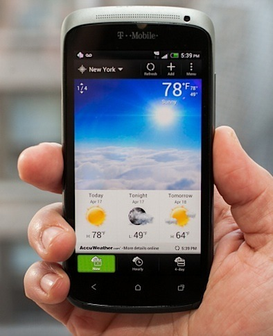 The HTC One S is powered by a fast 1.5GHz dual-core Snapdragon S4 processor.