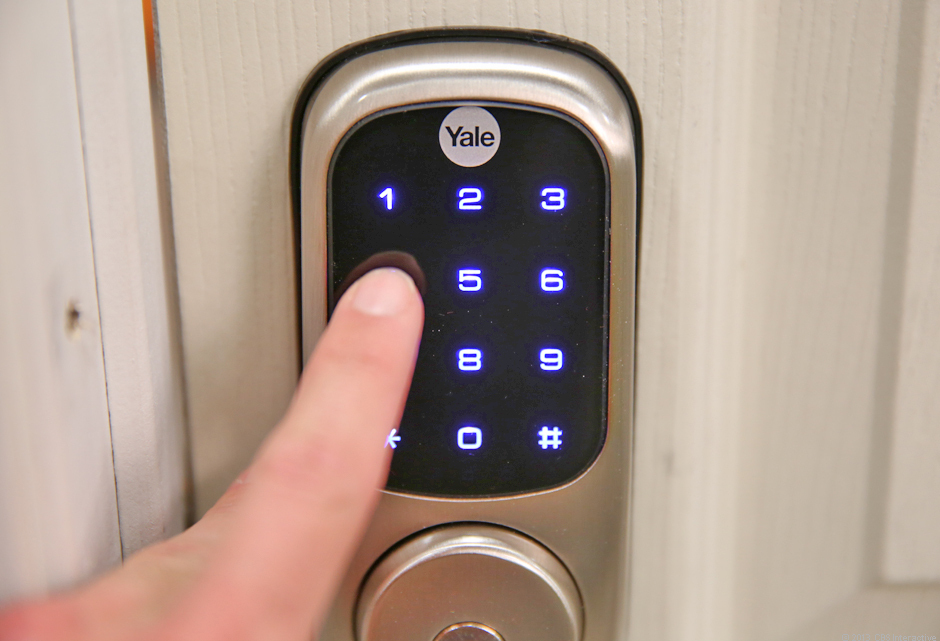 Yale Real Living Touchscreen Z-Wave Deadbolt (Polished Brass)