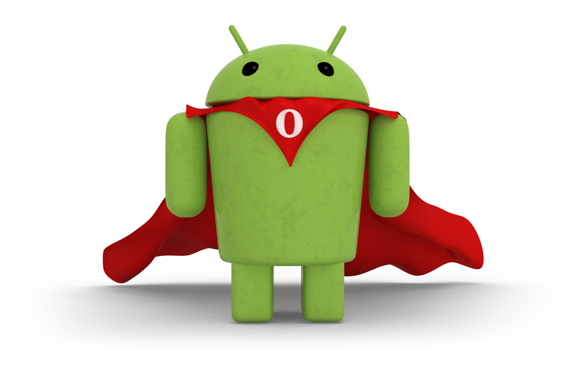 Opera Mobile for Android mascot