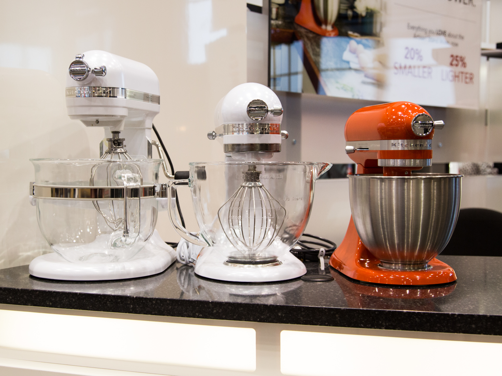 Kitchenaid S Iconic Mixers Are Now Smaller But Just As Costly Hands On Cnet