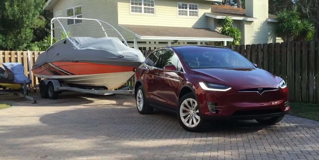 Towing with a Tesla