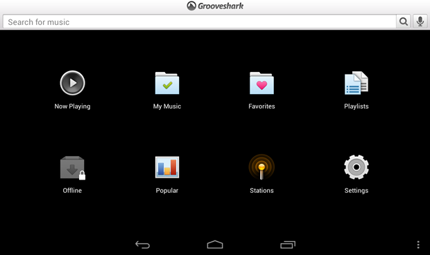 Grooveshark's Android app is again on the outs with Google.