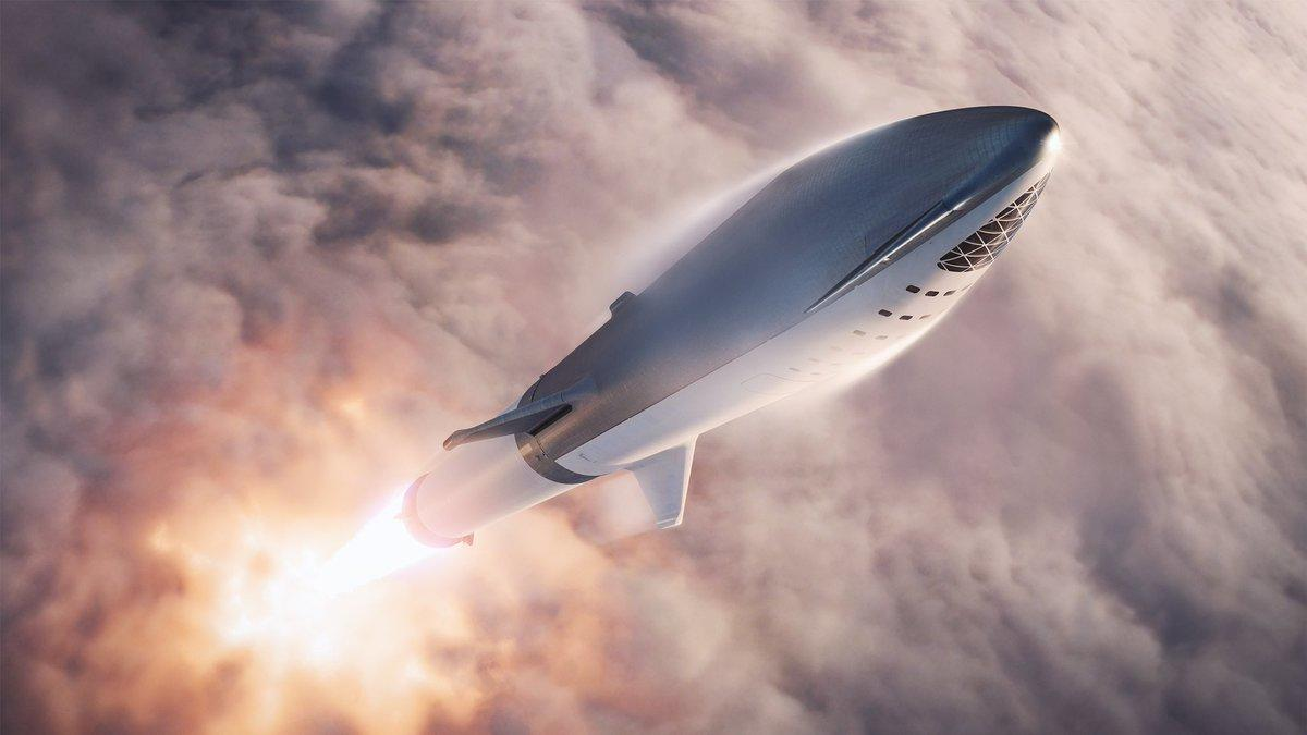 SpaceX BFR concept