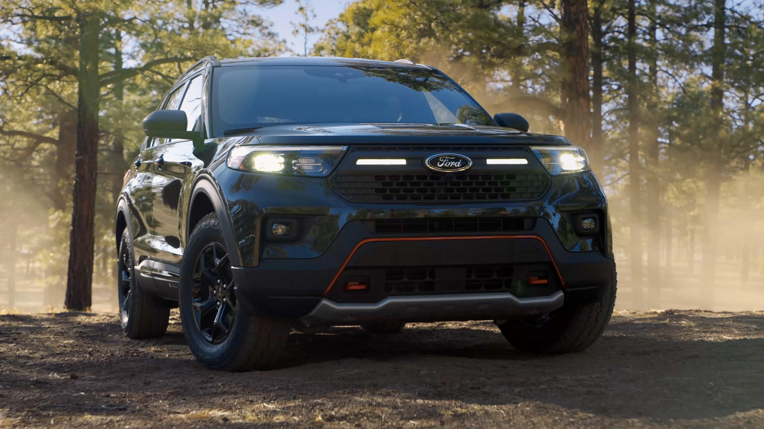 Video: Ford Explorer gets the off-road treatment with Timberline trim