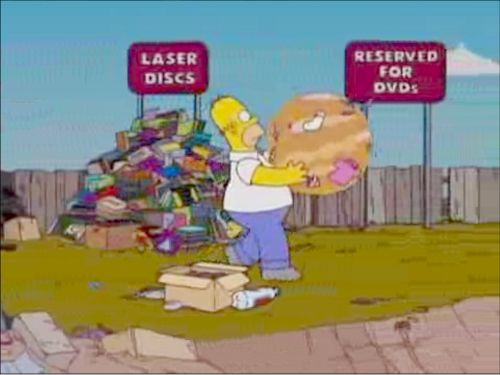 DVDs are probably headed for the trash heap, but for now you can still find them.