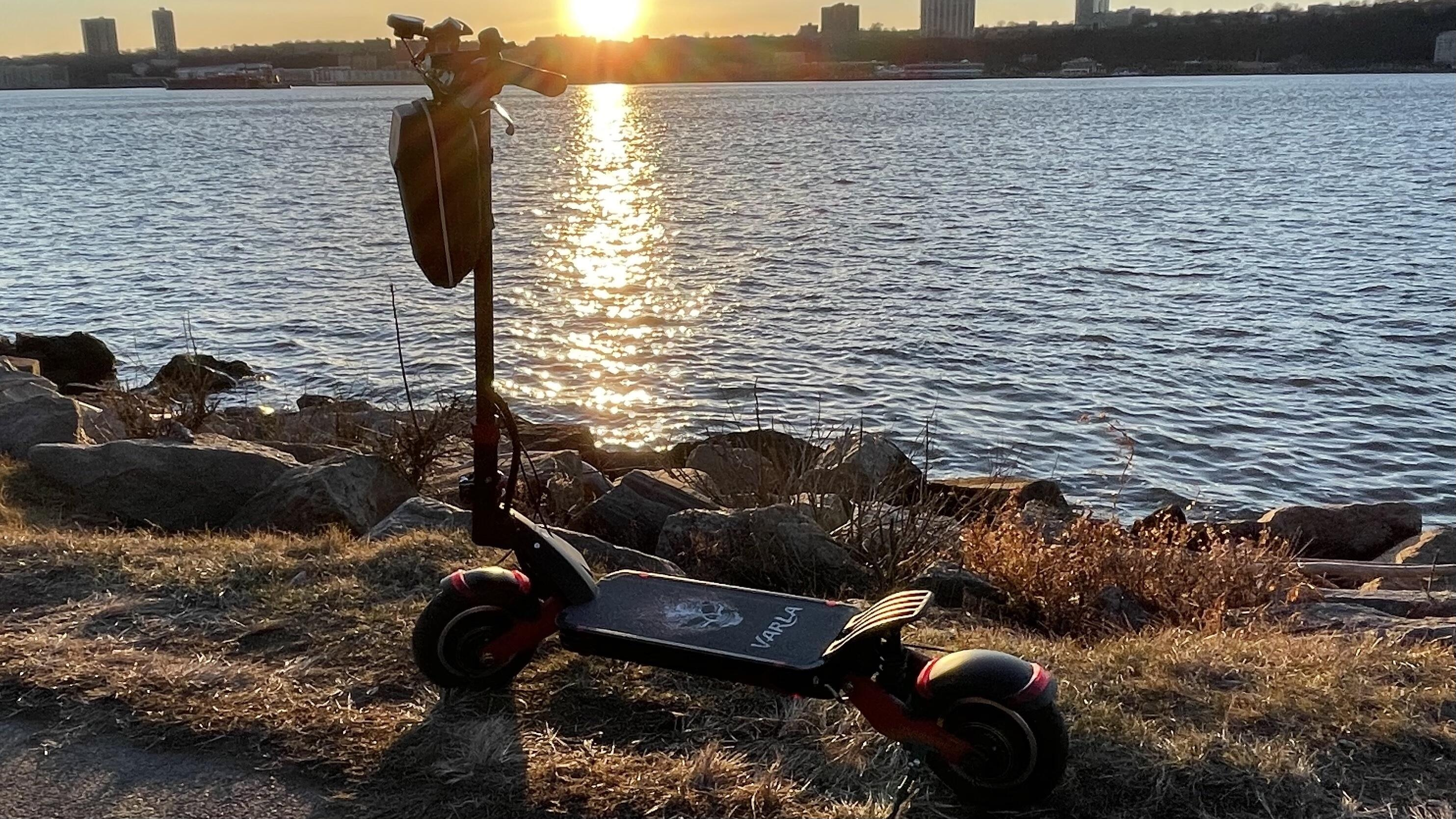 varla eagle one close up | Best electric scooter for summer 2021 - Roadshow | The Paradise