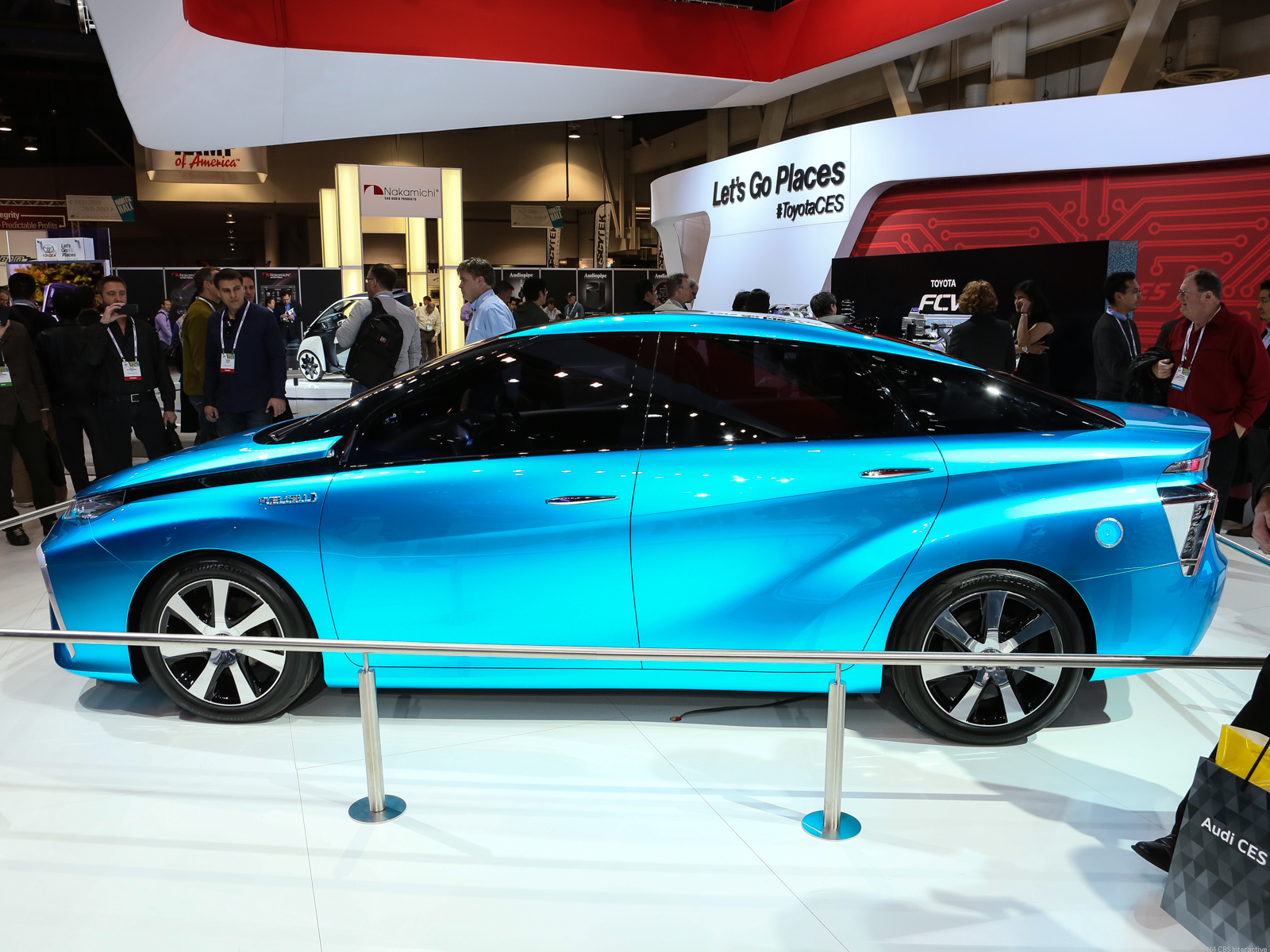 Toyota Fuel Cell Electric Vehicle concept
