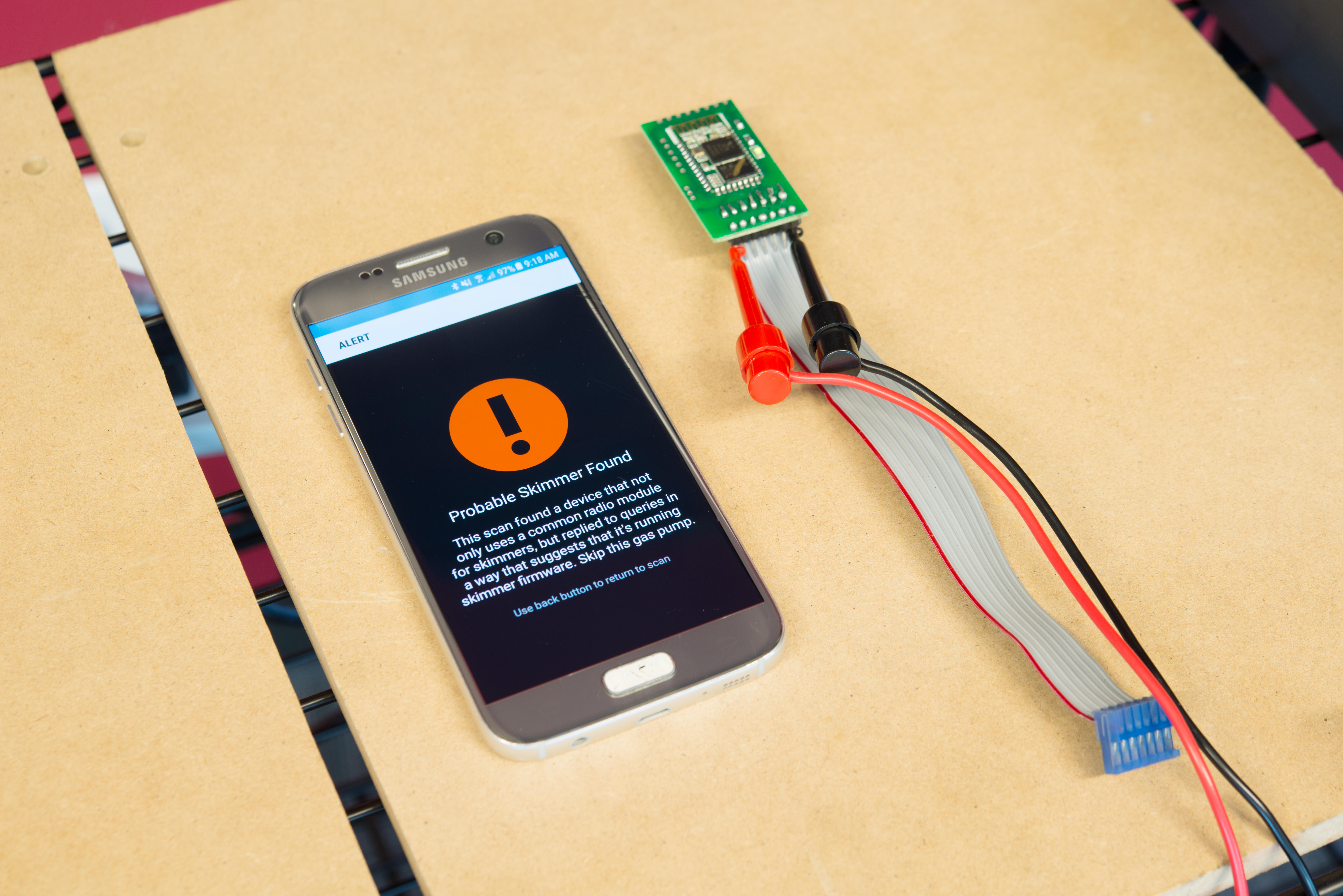 There's an app now that can help you find hidden skimmers.