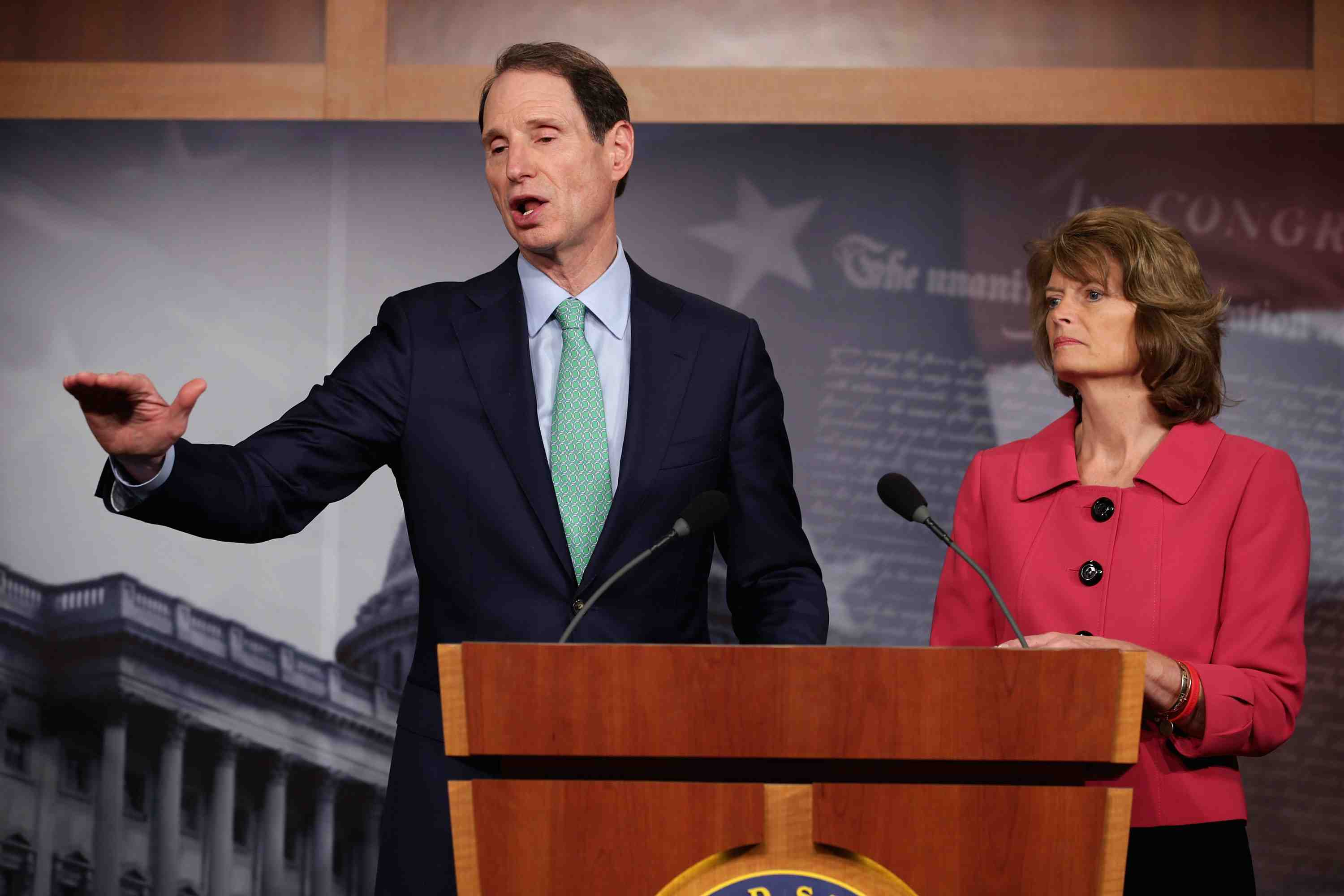 """Sen. Ron Wyden has been saying for years that """"the American people would be absolutely stunned"""" if they knew what kind of surveillance has been authorized by the Obama administration's secret Patriot Act interpretations."""