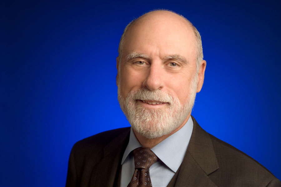 Vint Cerf, a father of the Internet and Google's chief Internet evangelist