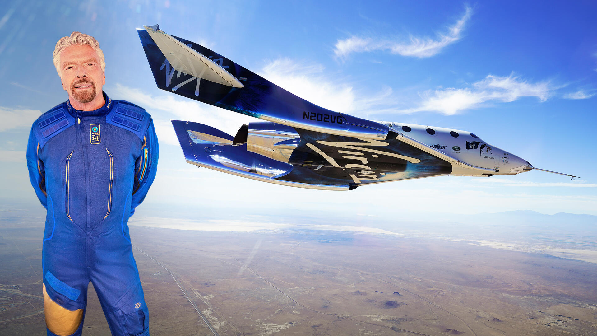 - yt branson launch 1 - Virgin Galactic set to launch Richard Branson to space: Why you should care