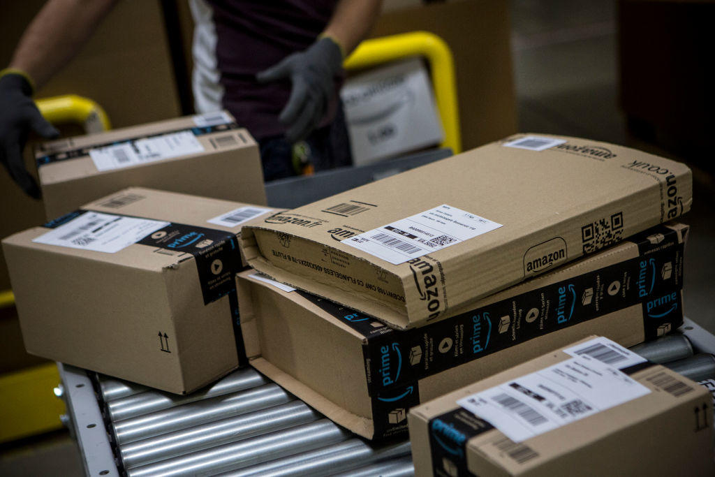 Amazon's Italian Fulfillment Centre Prepares For Black Friday