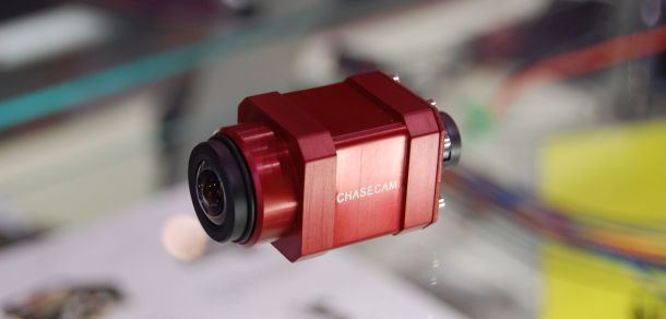The ChaseCam HD camera packs more resolution into a smaller package than the previous generation.