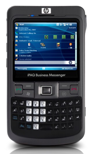 HP iPaq 910 Business Manager