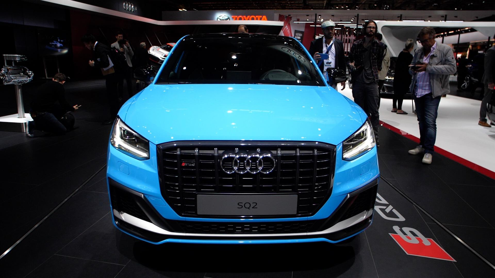 Video: Forbidden fruit: The Audi SQ2 debuts at the Paris Motor Show