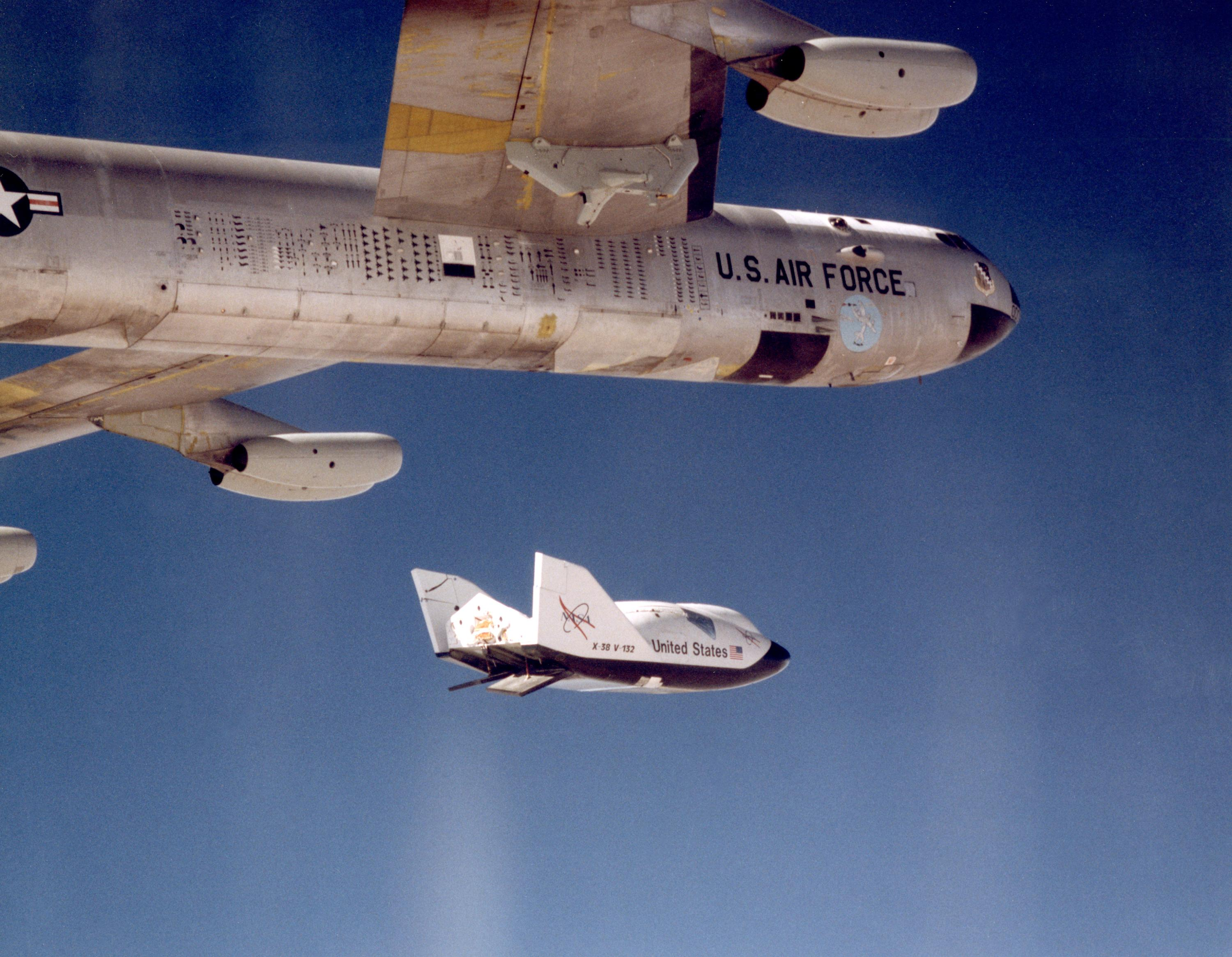 X-38 release from B-52