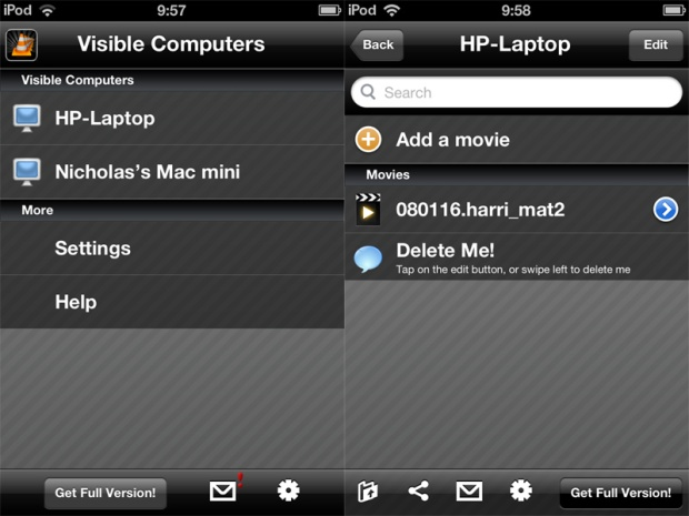 How to stream video to an iPad or iPhone using VLC Streamer: 3