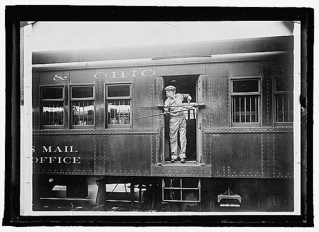 U.S. Mail railroad car