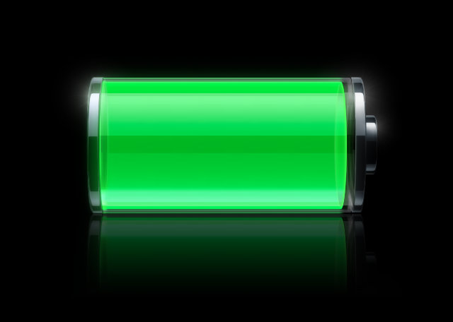 iPhone battery charge