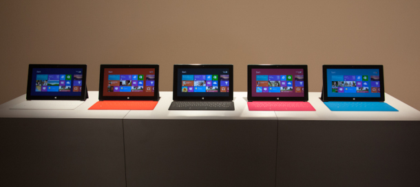Microsoft is reportedly offering reservations for its Surface tablet.