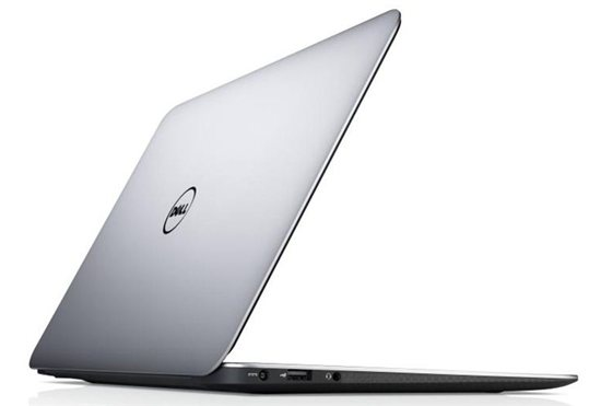 Dell XPS 13 ultrabook: The Wedge aesthetic has been adopted by all major ultrabook suppliers.