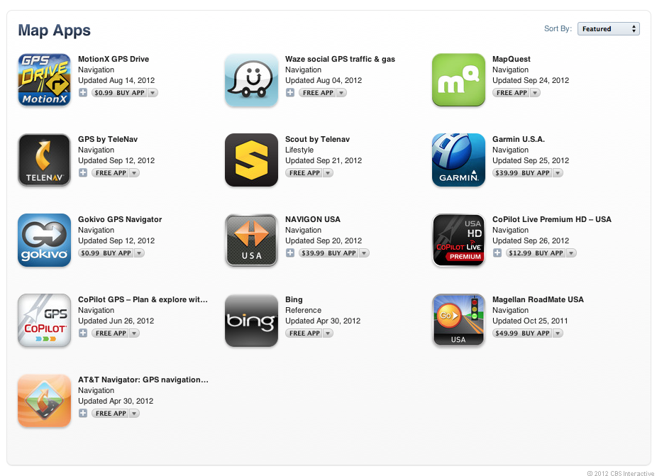 The list of apps (click to enlarge).