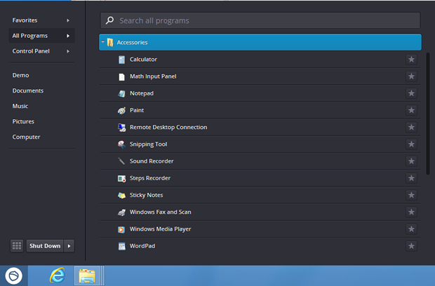 Pokki for Windows 8 offers its own version of the classic Start menu.