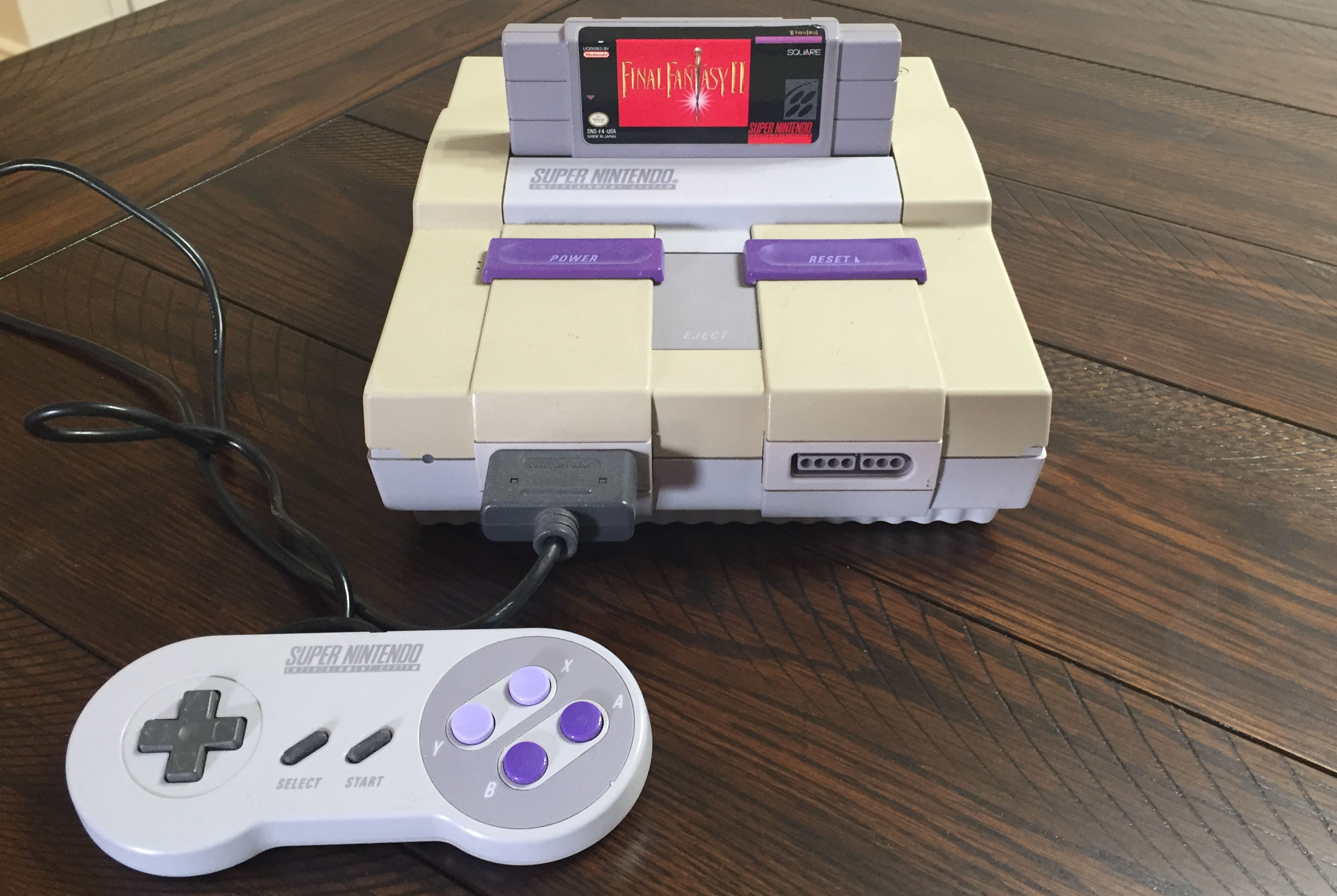 Super Nintendo Entertainment System (1991)